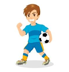 Soccer Kid vector image