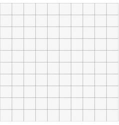White square ceramic seamless pattern background vector