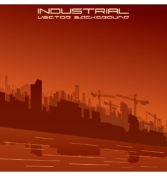 Construction Engineering Sector vector image vector image