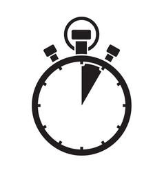 five minute stop watch countdown vector image vector image
