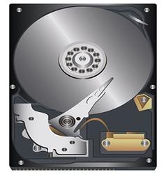 hard disk vector image vector image