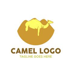 camel logo-11 vector image vector image