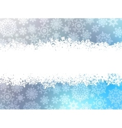 Snowflake christmas with white snow flake EPS 8 vector image vector image