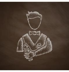 Bartender icon vector