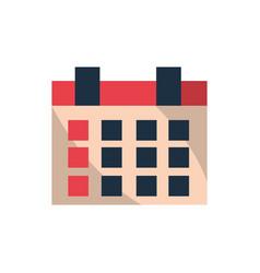 calendar reminder plan office work business vector image