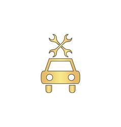 Car service computer symbol vector