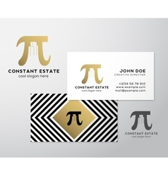 Constant Estate Abstract Premium Business vector image