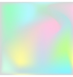 Holographic texture background Iridescent vector image