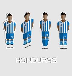 Honduras Soccer Team Sportswear Template vector