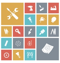 Icons tile industrial vector