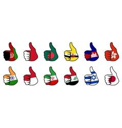 like flag vector image
