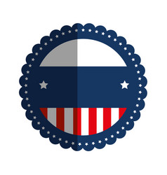 united states of america emblem vector image
