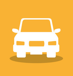 car vehicle auto icon vector image