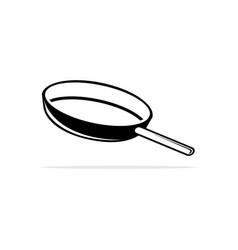 a pan icon concept for design vector image