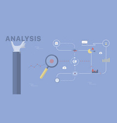 Analysis background vector