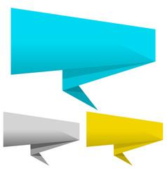 banner pointer set vector image