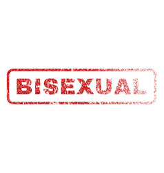 bisexual rubber stamp vector image