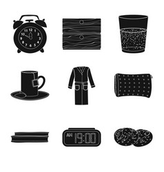Isolated object of dreams and night symbol set of vector