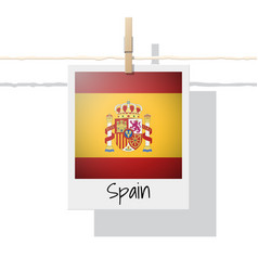 Photo of spain flag vector