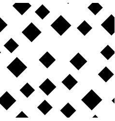 seamless abstract geometric pattern of black vector image
