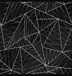 spider web triangle seamless texture vector image