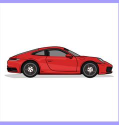 Sport carporsche vector