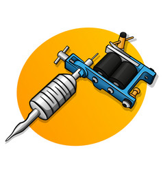 tattoo machine design concept vector image