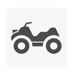 Vehicle icon black vector