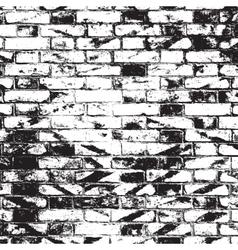Brick Wall Overlay vector image vector image