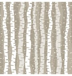 Birch wood vector