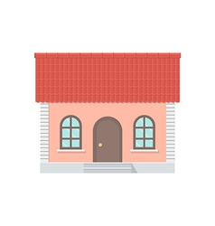 Cottage with a Tiled Roof vector image