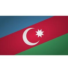 azerbaijan pin vector image