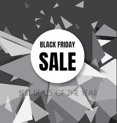 black friday design background5 vector image