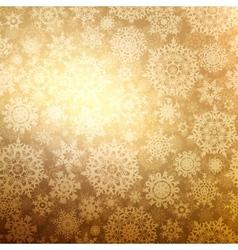 Christmas pattern snowflake seamless EPS 8 vector image