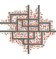 City maps vector image