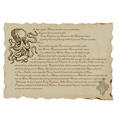 Creature or mystical monster gorgon vector