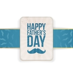 Happy Fathers Day Background Template vector image