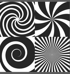 Set of psychedelic vector