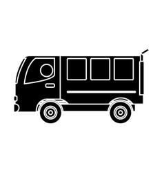 Van vehicle icon vector