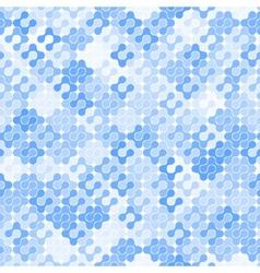 Abstract Seamless Meta Ball Pattern vector image vector image