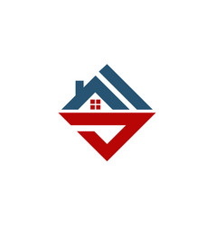 Home real estate initial s vector