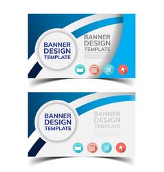 Multipurpose layout banner design vector