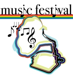 Music Festival vector image