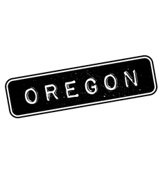 Oregon rubber stamp vector image