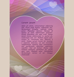 pink and pastel colored abstract background with vector image