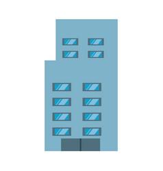 urban edifice tower vector image
