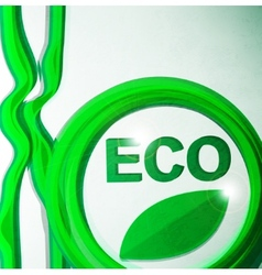 eco background vector image vector image