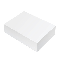 White Package Box For Software electronic device vector image vector image