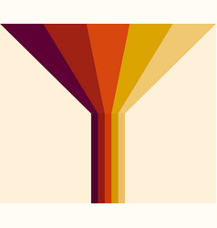 70s 1970 abstract stock retro lines vector