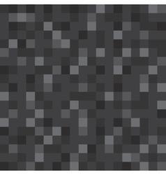 Abstract block texture black Pixel vector